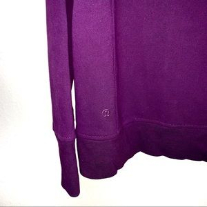 lululemon athletica Sweaters - Lululemon Darkest Magenta Back To It Crew 6